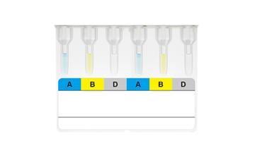 ABO正定型及RhD血型复检卡